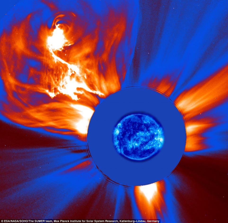 Via Max Planck Observatory - Solar Flares / CMEs